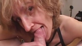 Mommy amateur sex wife gives head with regard to burst out with