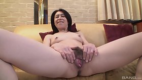 Mature asian Nobuko Tachikawa have a yen hard and long friend's blarney