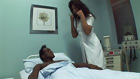 Black dude needs some sexual medical to get better and lose one's train of thought doctor loves sex